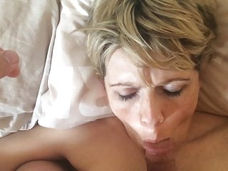 My Husband Cums on my Tits Again